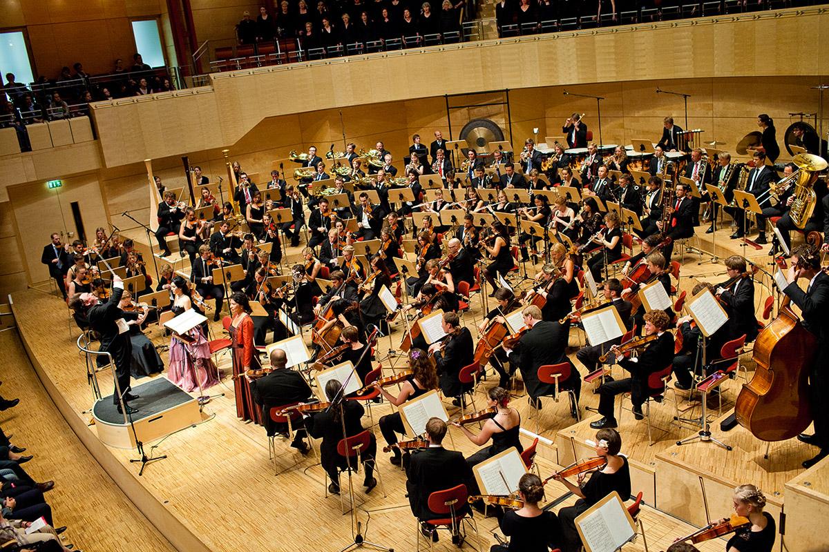 das junge orchester NRW in der Philharmonie Essen